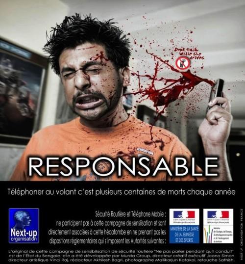 Une campagne «choc» de sensibilisation de Sécurité routière